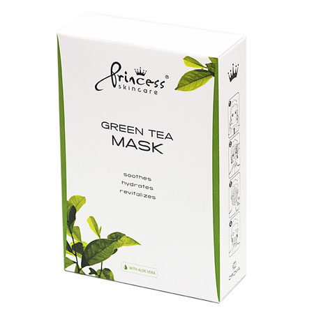 Princess Skincare Green Tea Mask